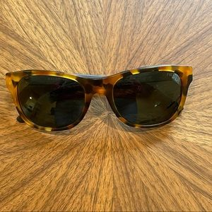 Ralph Lauren Women's Tortoise and Plaid Sunglasses